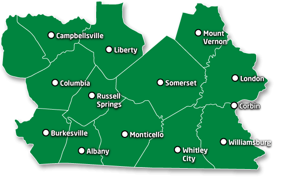 counties cities 567