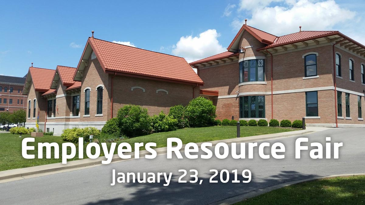 Employers Resource Fair January 23, 2019
